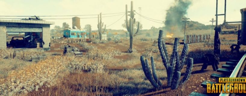 PUBG: Drei neue Bilder aus der Wüste & Testbericht