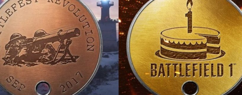 Battlefield 1: Battlefest und OneYear Anniversary DogTag Vergabe im November