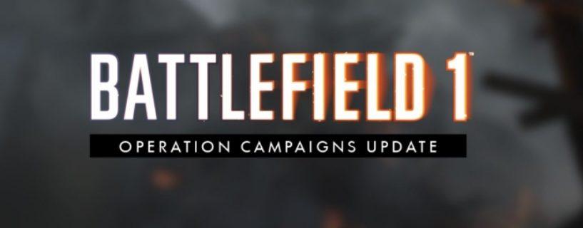 Battlefield 1: Das November Update ist da – Wir haben die offiziellen Changenotes und mehr für euch!