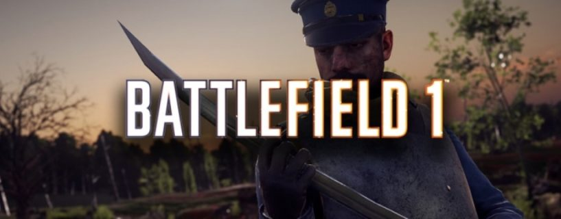 Battlefield 1: Weitere kostenlose Nahkampfwaffe jetzt verfügbar
