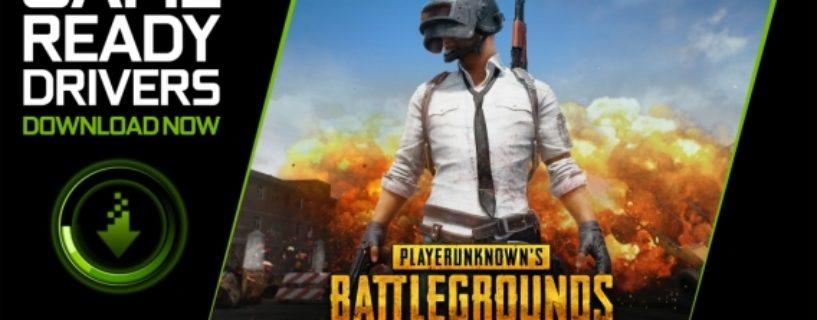 NVIDIA veröffentlicht neuen Treiber für Playerunknown's Battlegrounds