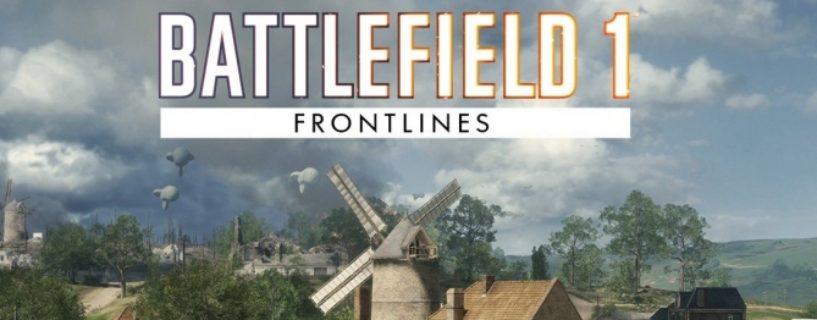 Battlefield 1: St. Quentin Scar nun auch für den Frontlines Spielmodus verfügbar
