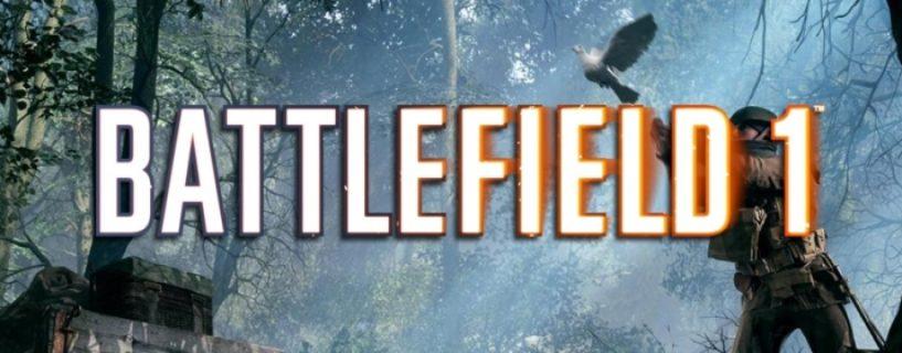 Battlefield 1: Elite Kits verschwinden nun auch im Kriegstauben Spielmodus