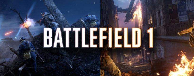 Battlefield 1: Prise de Tahure – Karte ab Heute für alle Spieler kostenlos