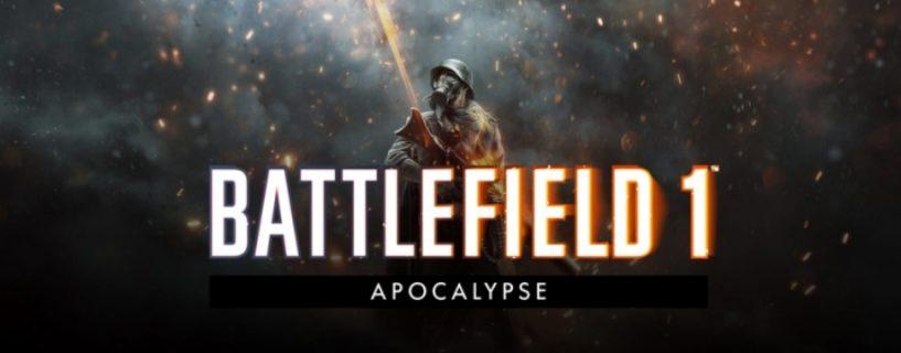 """Battlefield 1: Termin für Februar Update und letztes DLC """"Apocalypse"""" bekannt"""