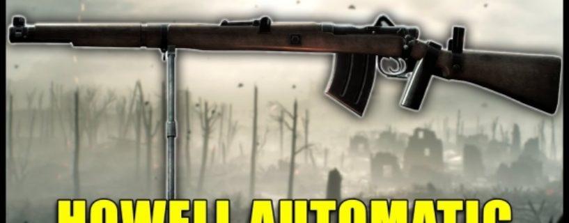 Battlefield 1 – Historische Waffen: Howell Automatic