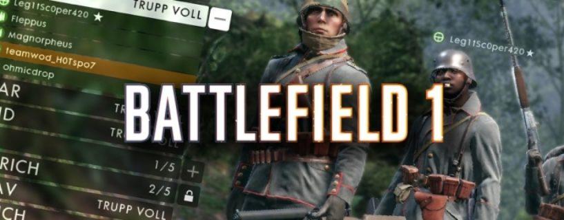 Battlefield 1: Spieler unzufrieden über neues Auto-Team-Balancing Feature