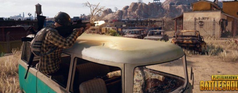 PUBG: Die Wüstenkarte Miramar erscheint am 24. Mai auf der Xbox One