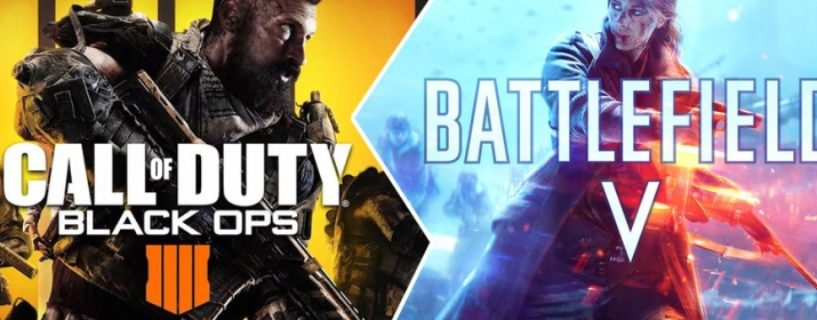Battlefield V vs. Black Ops 4 – Das Duell auf Youtube