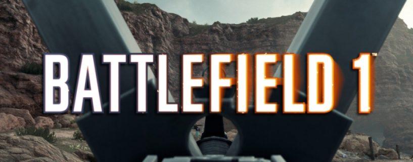 Battlefield 1: Neue Waffe im Battlefield 1 CTE gesichtet