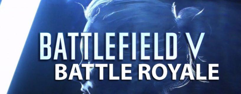 Battlefield V: DICE äußert sich dazu warum es einen Battle-Royale Spielmodus geben wird