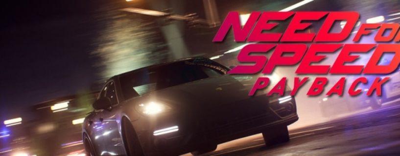 Need for Speed: Payback – Umfangreiches Juni Update erscheint am 19. Juni 2018