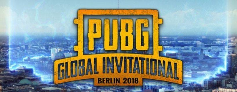Tickets für das PUBG Global Invitational jetzt im Vorverkauf verfügbar