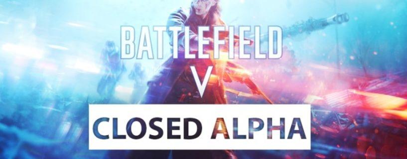 Alle Details zur zweiten Battlefield V Closed Alpha Phase