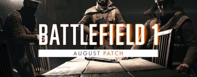 Battlefield 1: Das August Update ist da!
