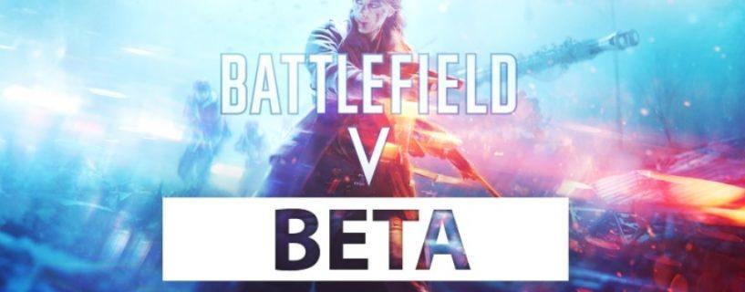 Battlefield V Open Beta kann eine Woche gespielt werden