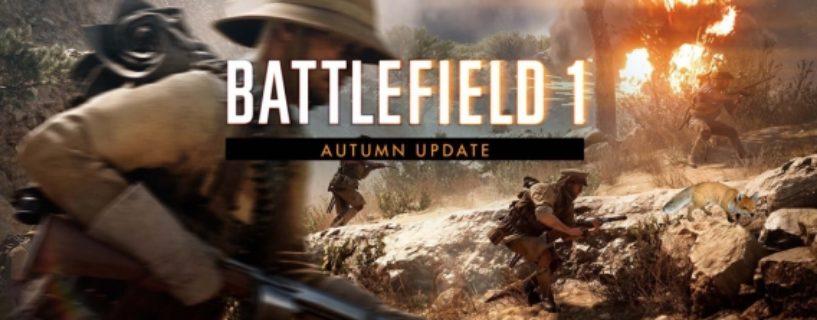 Battlefield 1: Das Herbst Update ist da!