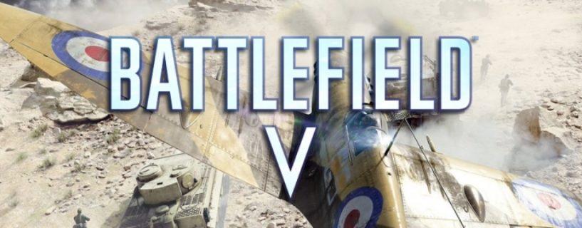"""Battlefield V verfügt über """"Custom Button Mapping"""" zum Release"""