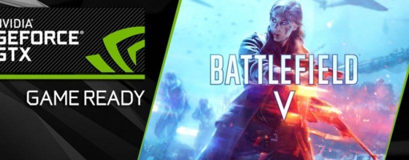 NVIDIA veröffentlicht weiteren Battlefield V optimierten Game Ready Driver 416.94 WHQL