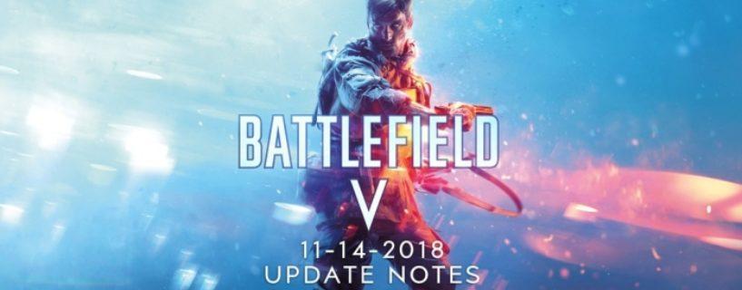 Battlefield V: Offizieller Changelog zum heutigen Battlefield V Deluxe Edtion Update