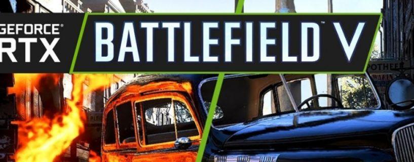 Battlefield V: Dezember Update soll auch Raytracing um 50% schneller machen