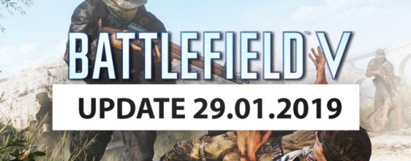 Zweites Battlefield V Januar Update erscheint am kommenden Dienstag, wir fassen die Inhalte zusammen