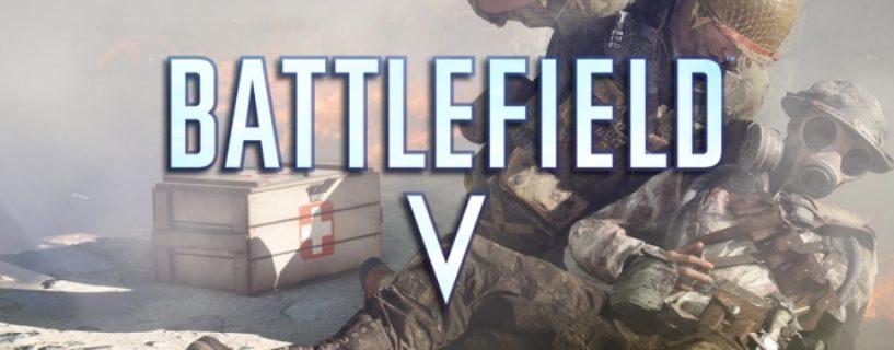 Battlefield V:  Medics werden neue Waffenklasse erhalten