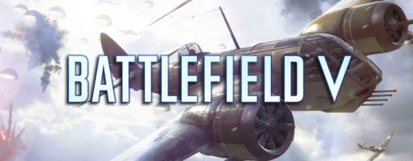 Battlefield V: Rauchbeschuss und Sektor Artillerie ab nächster Woche verfügbar, neue Flugzeuge kommen ebenfalls