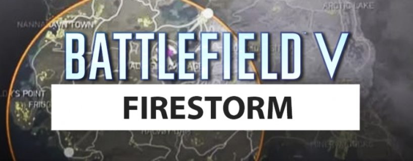 Battlefield V: Firestorm Gameplay, Tutorial Video und Map geleaked