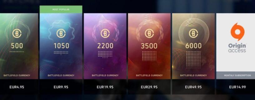 """Battlefield V: Neue Inhalte im Ingame """"Skin-Store"""" Arsenal"""