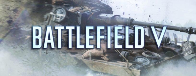 Battlefield V: Optische Panzer-Anpassung soll bis Juni verfügbar sein
