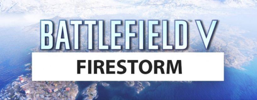 Battlefield V: Firestorm soll seine eigene Roadmap erhalten