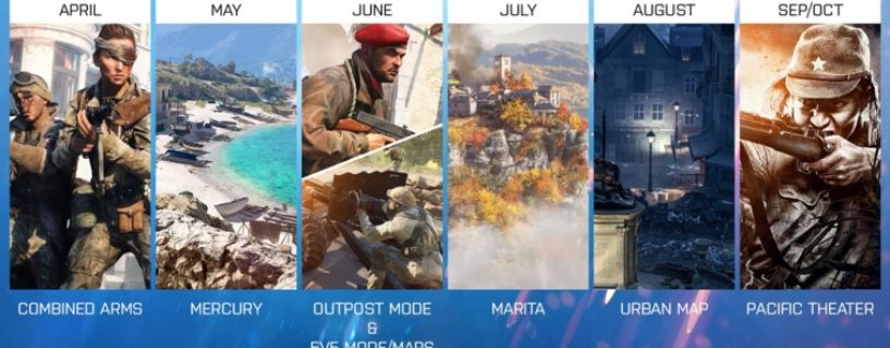 Battlefield V: Map, Maps, Map, Map – DICE kündigt nochmals große Map Bescherung an