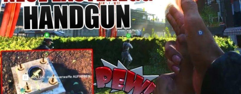 """Battlefield V: Neues Easter Egg """"Handgun"""" seit dem letzten Patch verfügbar"""