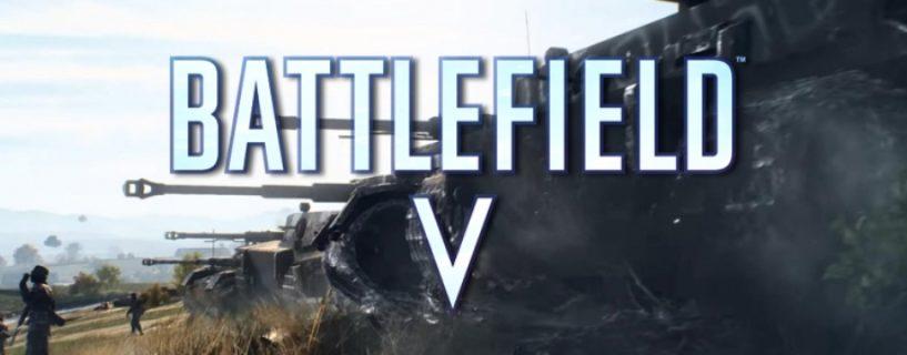 Battlefield V: Stabilitäts-Update erscheint am morgigen Mittwoch