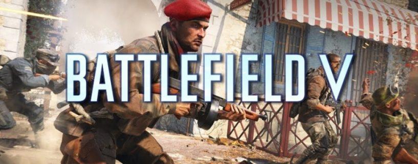 Battlefield V: Neuigkeiten von der Gamescom – 5v5 Esport Modus, neue Maps, Operation Underground & Kapitel 5