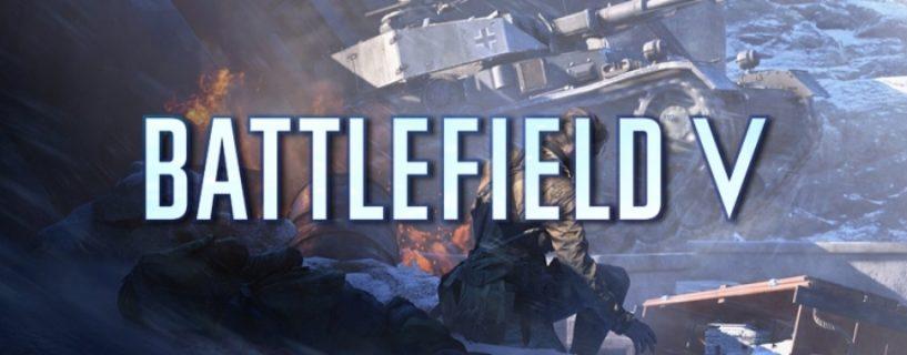 Battlefield V: Update 4.4 aufgrund von Problemen verschoben