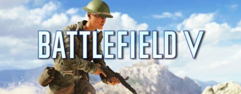 Morgen Backend Wartungsarbeiten für Battlefield V Update 4.6
