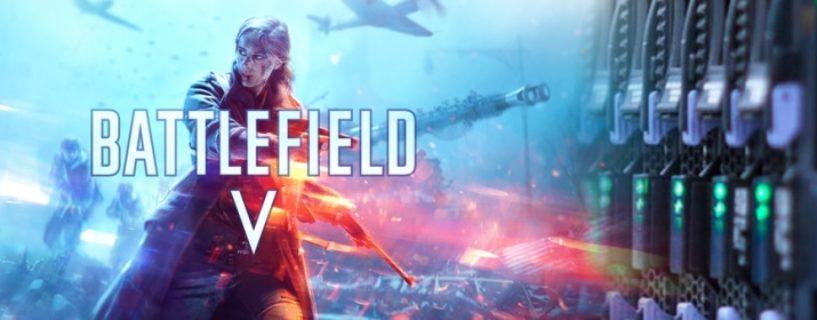 Battlefield V: Privat Games werden derzeit getestet, Nameswechsel, Livestream und mehr