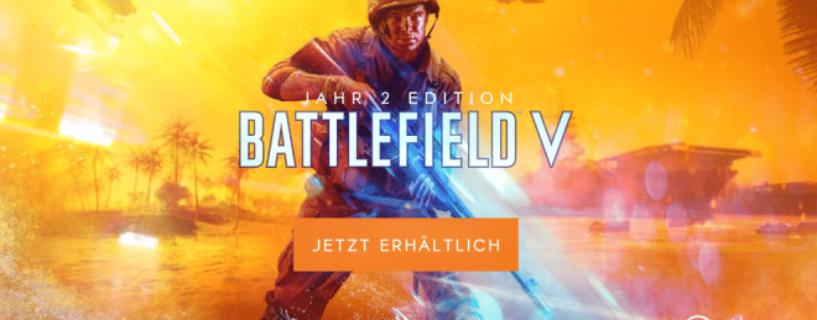 Battlefield V Jahr 2 Edition und Booster Packs für Kapitel 5: Pazifikkrieg veröffentlicht