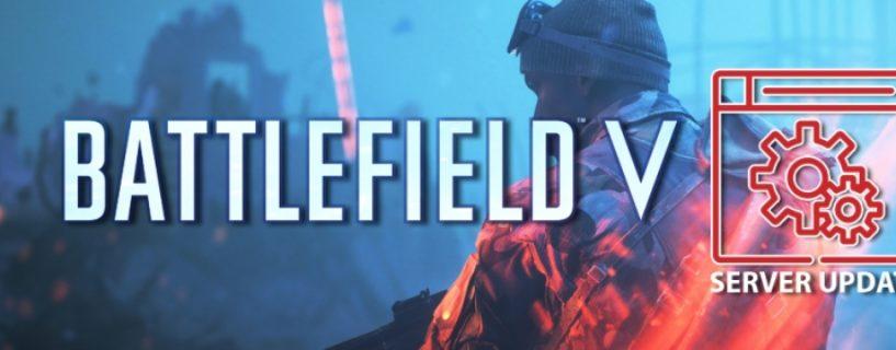 Battlefield V: Morgiges Serverupdate soll Absturzprobleme und Verbindungsverluste lösen