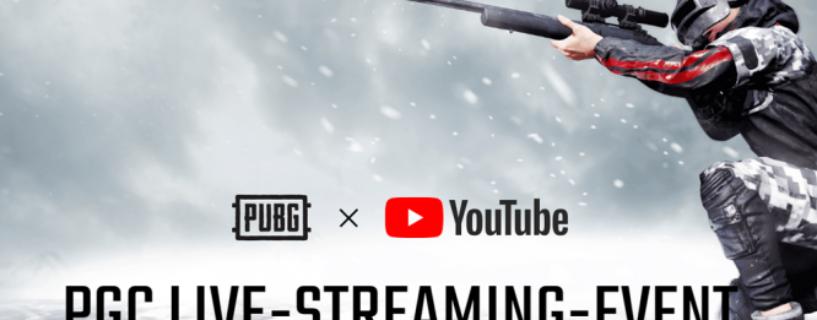 PUBG: Gratis PGC-Skin Set für Kontoverknüpfung mit Youtube