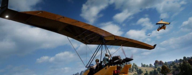 Erstes selbststeuerbares Flugzeug in PlayerUnknown's Battlegrounds via PUBG Labs