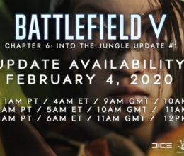Battlefield V Update 6.0 erscheint Morgen! Changelog, Update Zeiten und Downloadgrößen schon Heute!