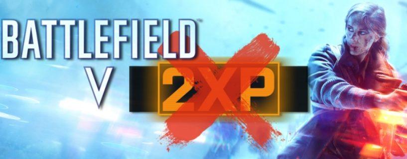 Double XP Events sind für Battlefield V technisch nicht möglich, Lösungen werden gesucht
