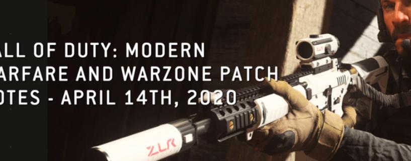 Call of Duty Modern Warfare & Warzone: Kleines Game & Playlist Update soeben veröffentlicht
