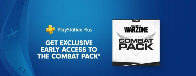 Call of Duty Modern Warfare: Warzone Combat Pack für Playstation Plus Spieler verfügbar
