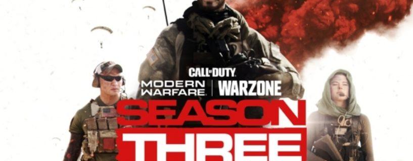 Call of Duty Modern Warfare: Erster Teaser zur dritten Season – Freischaltung, Update & Maps