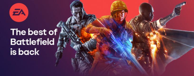 Alle Frostbite Engine Battlefield Titel nun auf Steam erhältlich