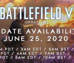 Battlefield V: Update 7.1 erscheint morgen und löst die Probleme des Summer Updates